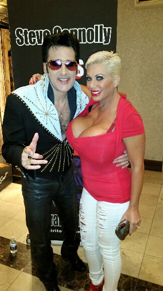 Giant boobs with Elvis