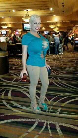 claudia marie tight pants and tight shirt