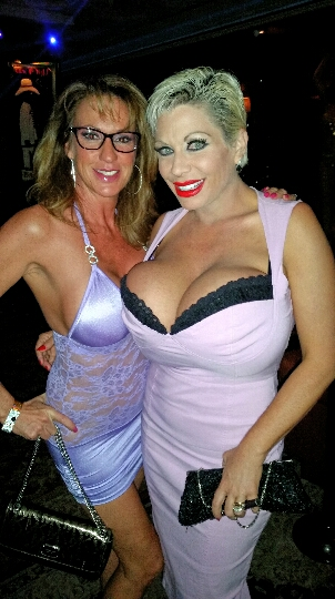 Claudia Marie and Annette Hotwife partying in Las Vegas