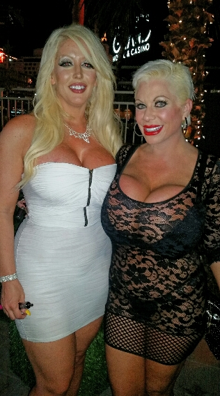 Alura Jenson and Claudia Marie at The Gold Spike in Vegas