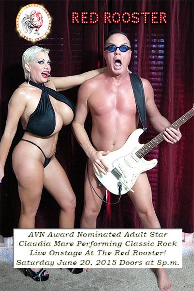 Big tits Claudia Marie rock singer