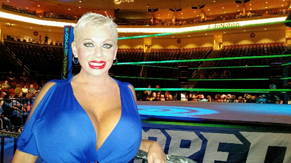 Huge boobs at Global Force Wrestling