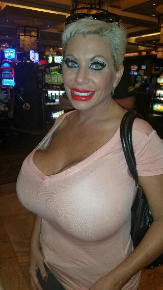 Big tits at Ballys