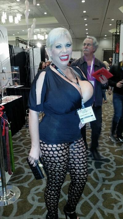 Huge boobs Claudia Marie at AEE