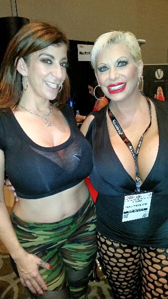 Claudia Marie with Sara Jay