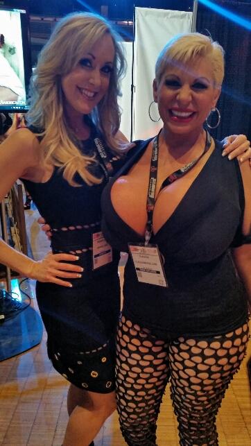 2 fake tit whores...Brandi Love and Claudia Marie
