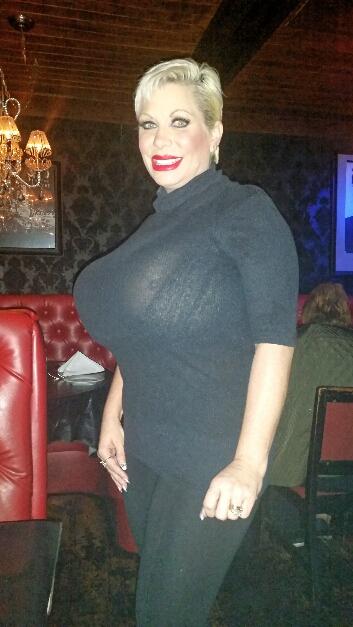 Claudia Marie huge tits in vegas