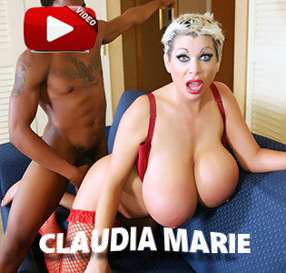 Fuck big tit Claudia Marie in the ass