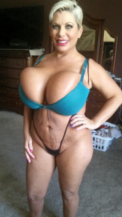 Claudia Marie giant fake tits