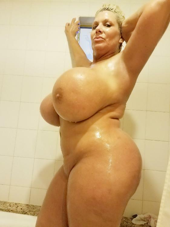 Fake tits big ass